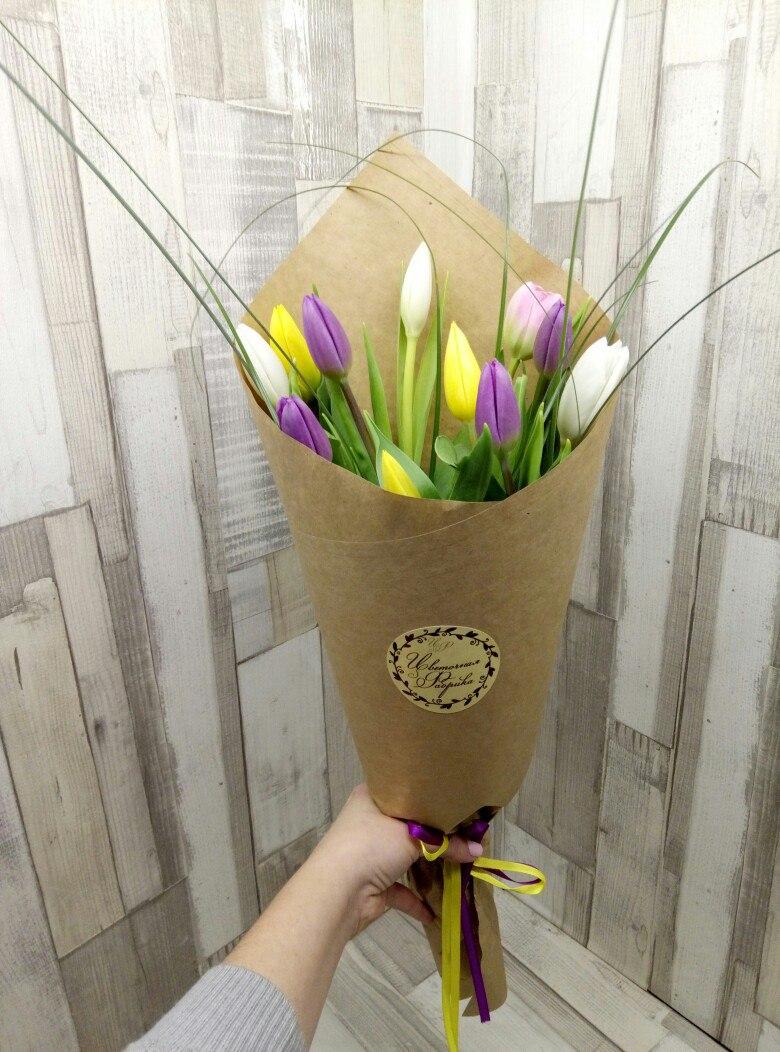Букет тюльпаны осока фото, цветов